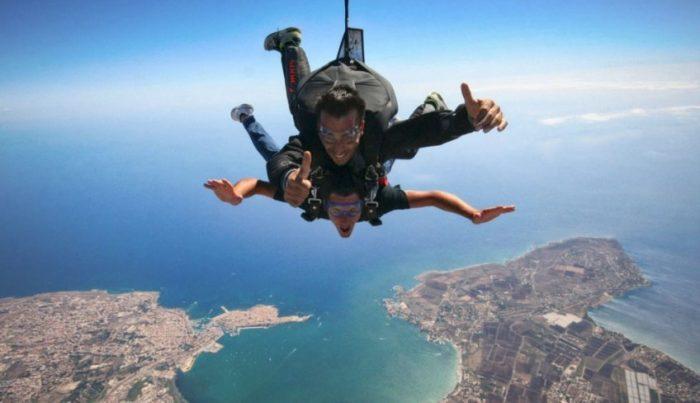 offerta esperienza lancio paracadute